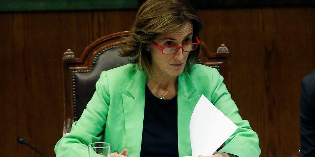 """Ministra Cubillos con todo contra """"Ley Machuca"""": """"Aspiran a que a los más vulnerables los eduquen colegios con lucro"""""""