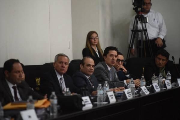 Las autoridades de Finanzas Públicas explican sobre la asignación presupuestaria del 5%.