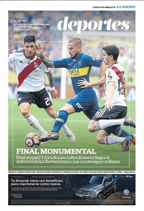 La Nación (portada deportes)