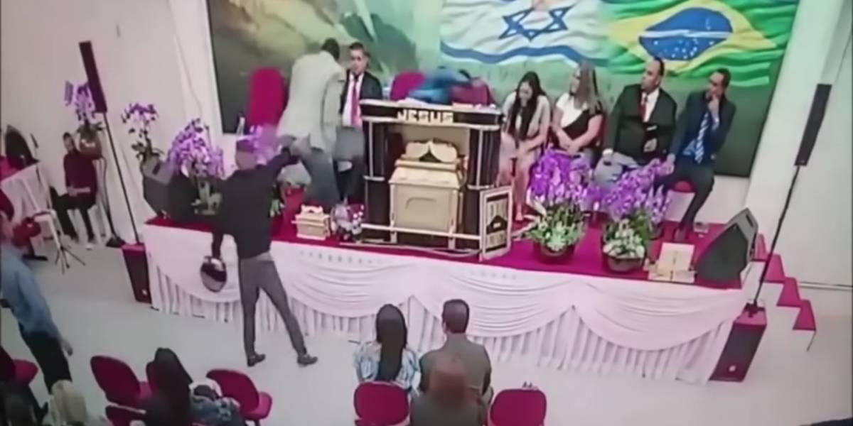 Pastor é baleado durante culto em Mogi das Cruzes