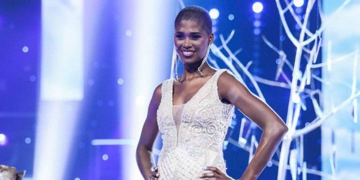 Ceylin Rosario lució traje de gala en concurso Nuestra Belleza Latina