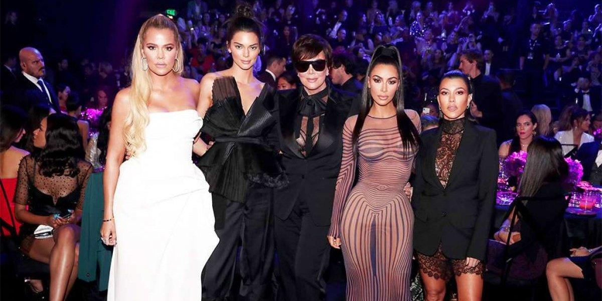 """El """"heroico"""" agradecimiento de las Kardashian tras ganar como mejor reality"""