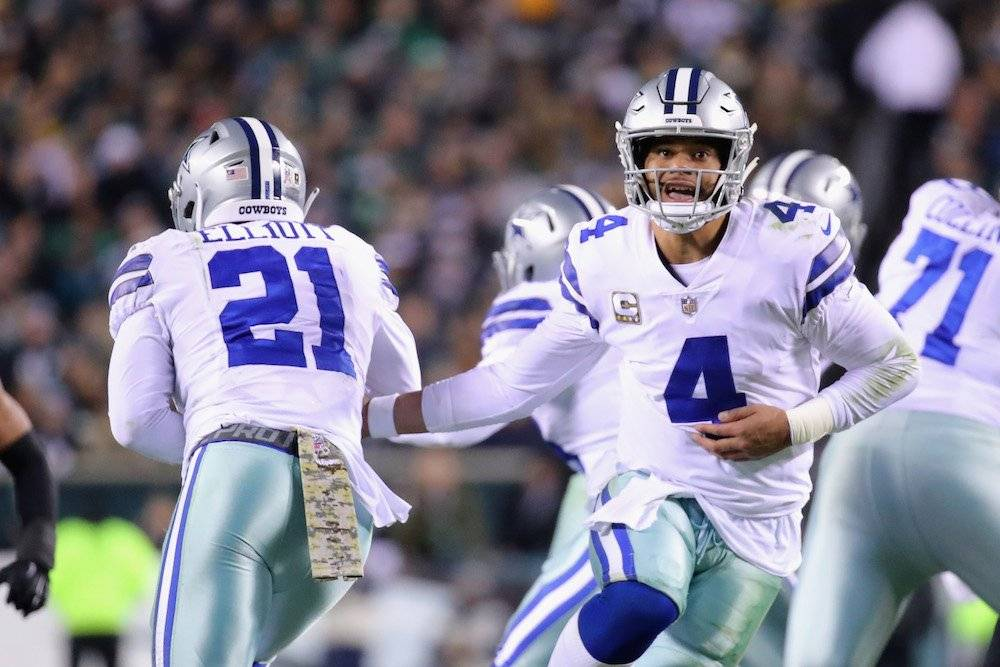 Cowboys 27-20 Eagles / Getty Images