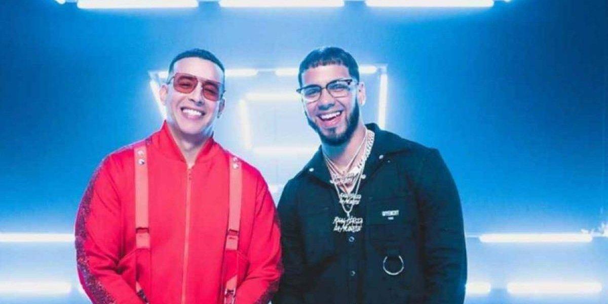 """Daddy Yankee y Anuel AA estrenan disco """"Adictiva"""""""