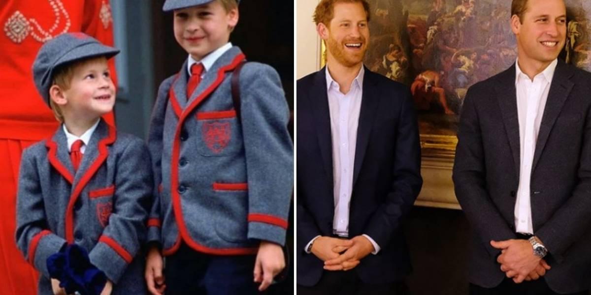 O motivo pelo qual os príncipes Harry e William devem se 'distanciar' em breve