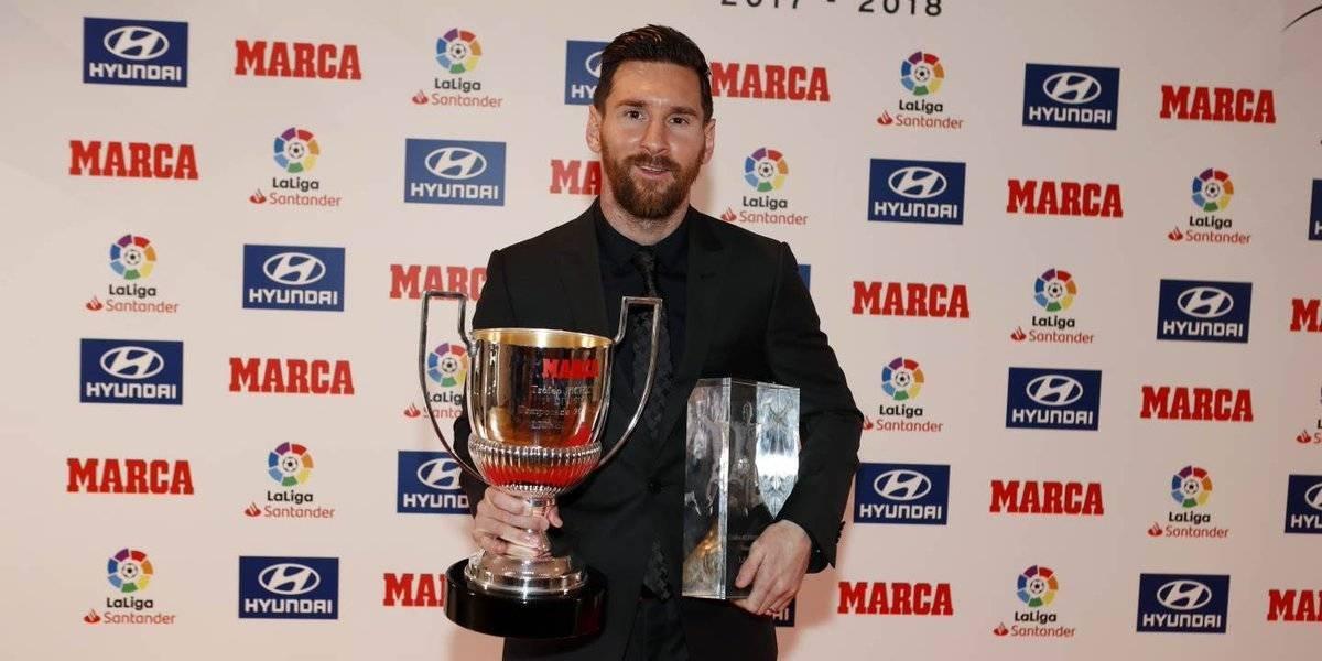 VIDEO: Messi conquista su quinto 'Pichichi' en su vida