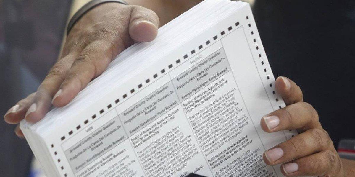 Republicanos denuncian fraude electoral en Florida por parte de demócratas