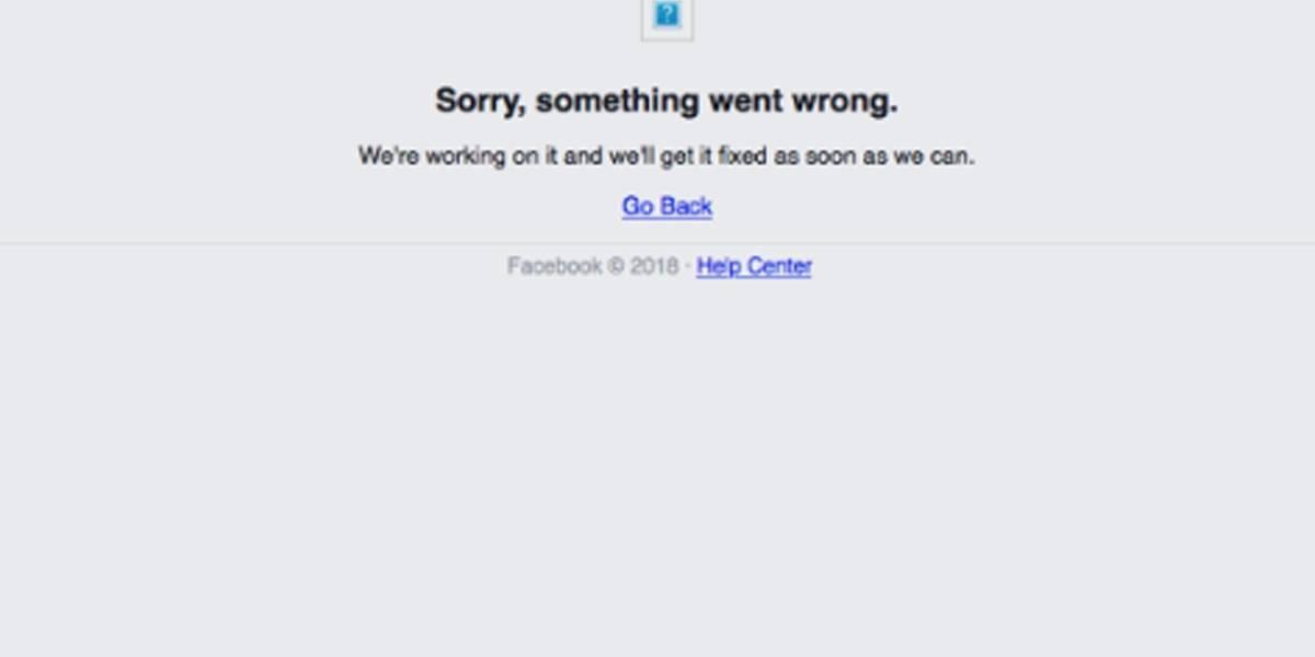 Facebook tem falha generalizada e sai do ar