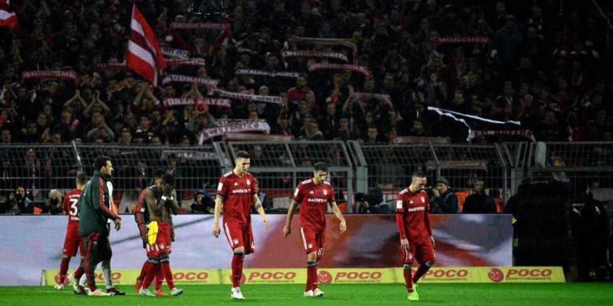 Estrella del Bayern abofeteó a un comentarista deTV tras la derrota contra el Dortmund