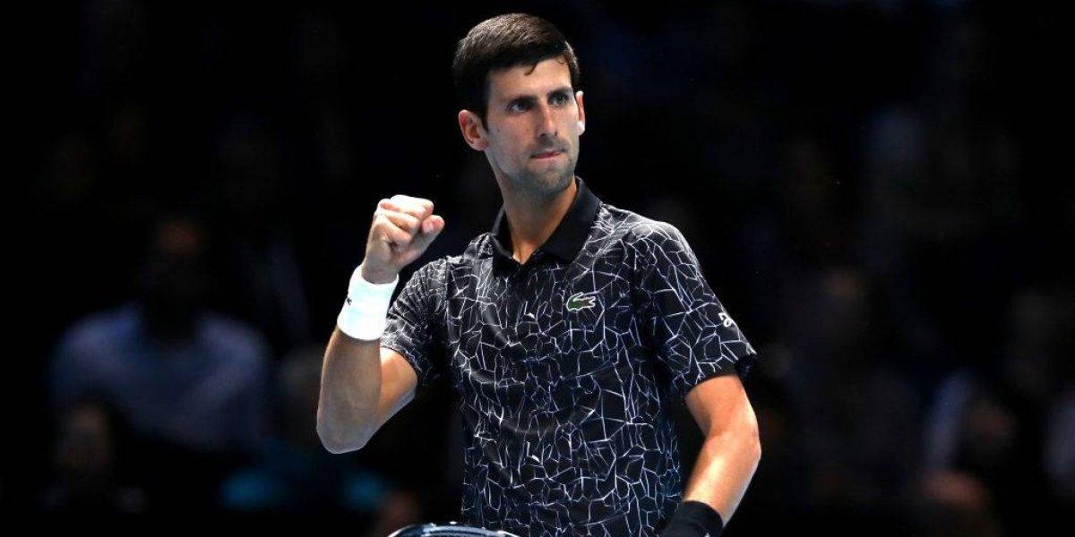 Otra vez sufriendo: Djokovic extremó recursos ante Basilashvili y sigue avanzando en Doha