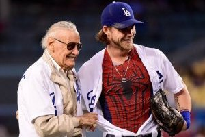 Stan Lee, gran aficionado al beisbol de las Grandes Ligas