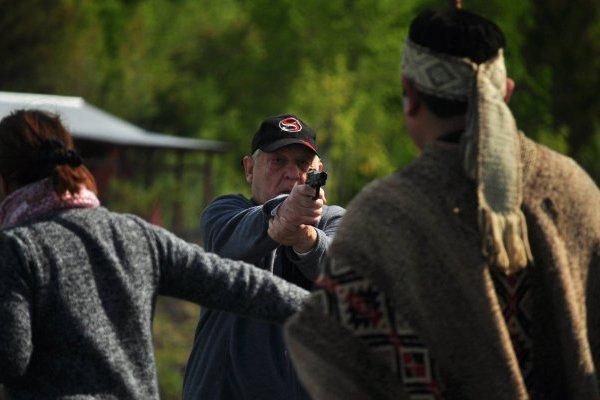 Comunidad mapuche acusa violentas amenazas con pistolas