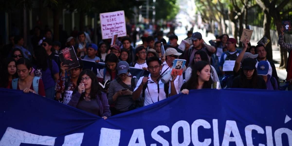 Marcha de las mochilas exige presupuesto para la Usac