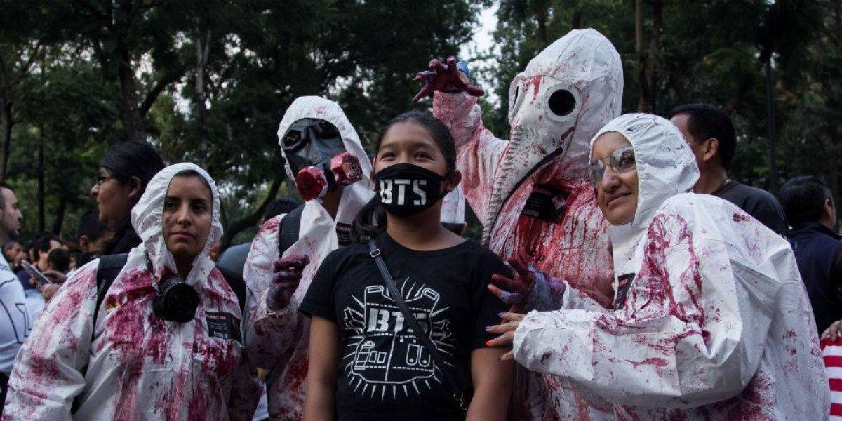 FOTOS: Zombies invaden la CDMX