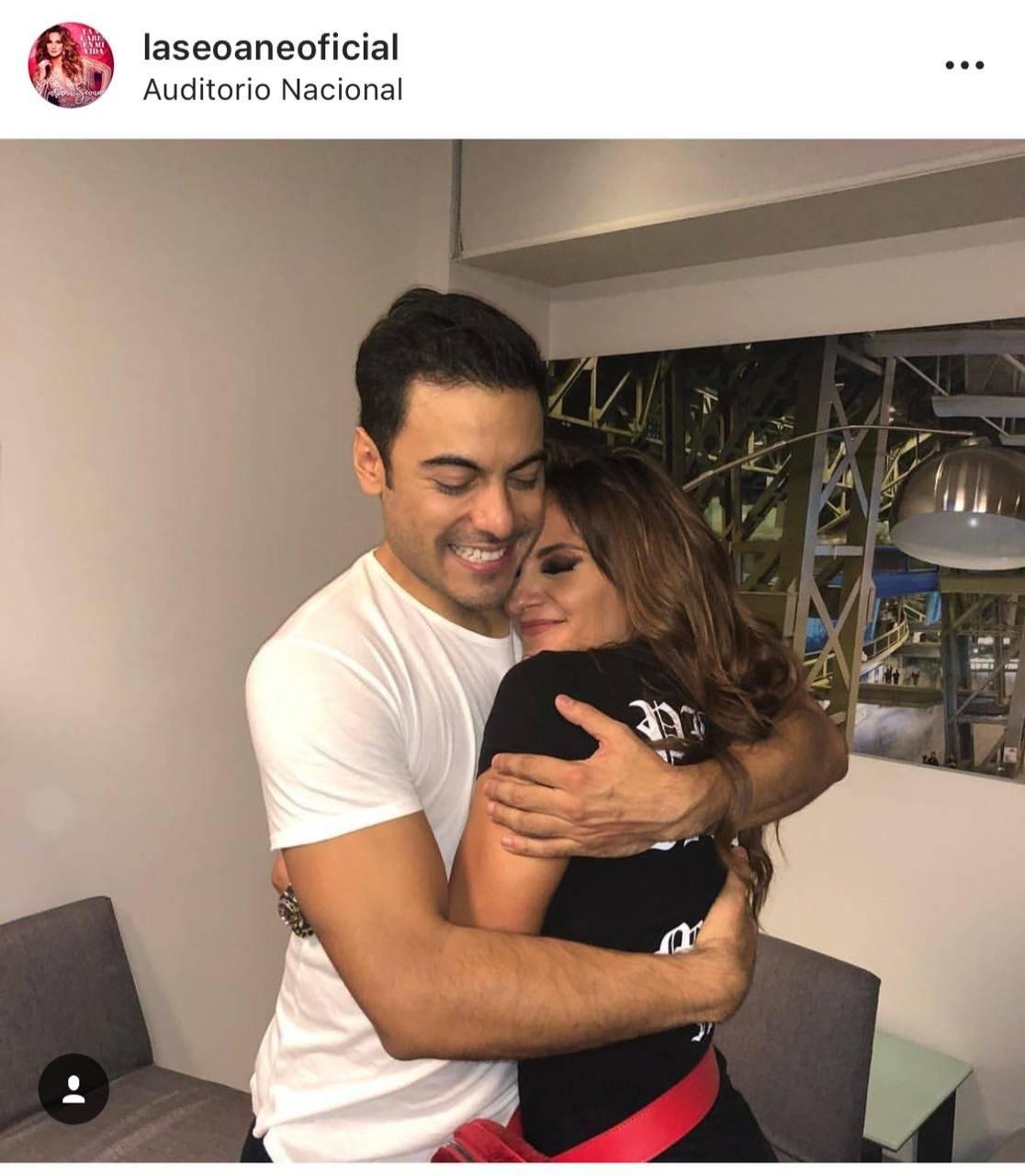 """Es amiga del interprete de """"Regrésame mi corazón"""". Foto: Instagram"""