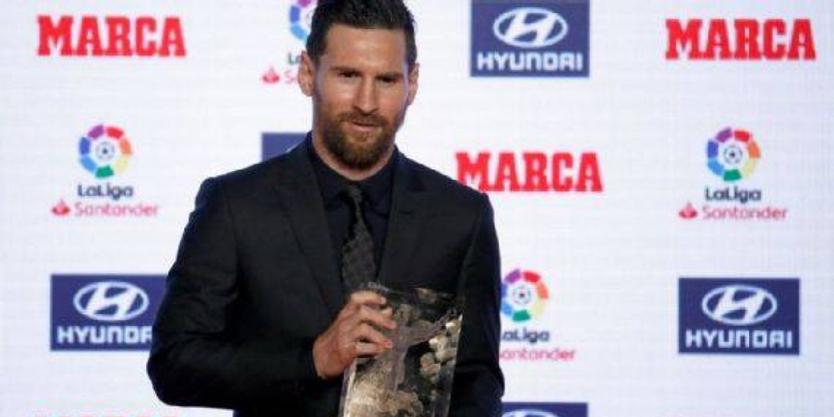 Lionel Messi elegido Pichichi y MVP de la Liga Española de 2017-18