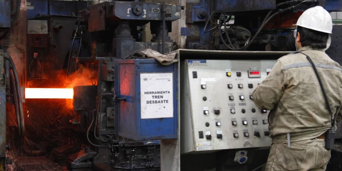 Gremio metalúrgico alerta por tendencia a la baja del sector