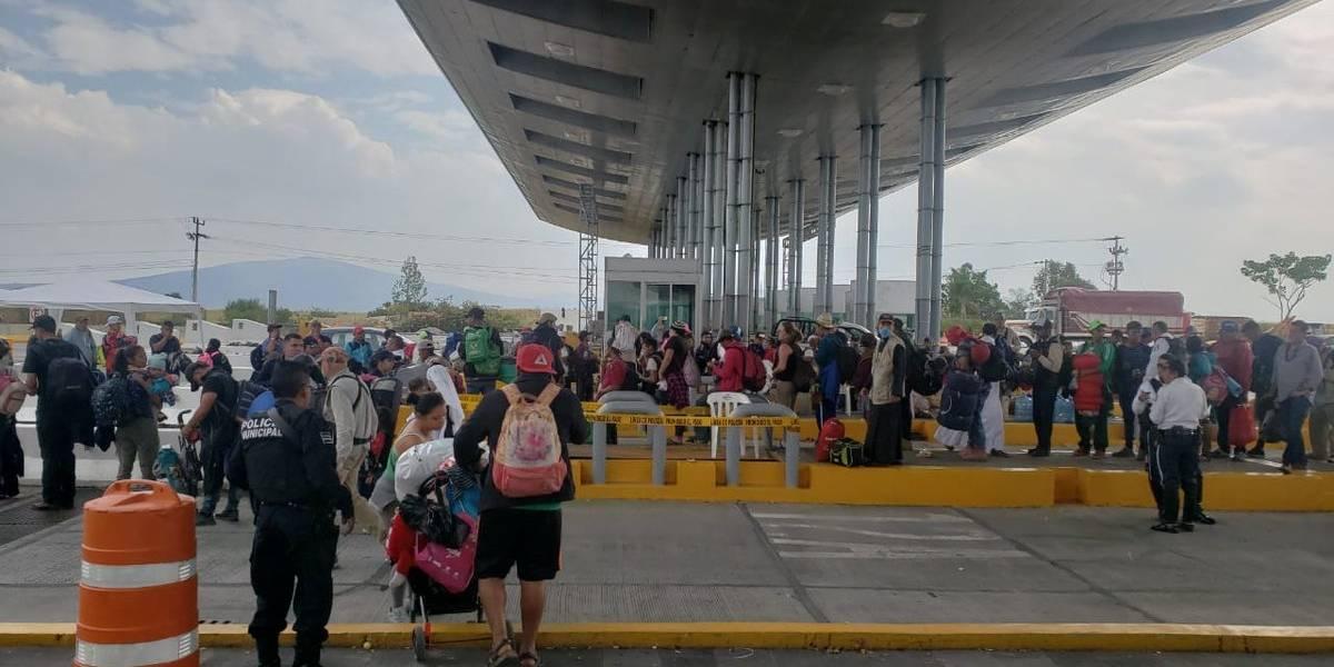 Prevalece el ingreso masivo de migrantes a Guadalajara