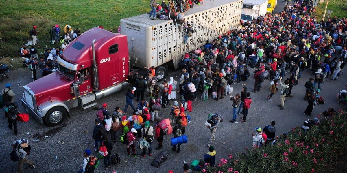 Segunda caravana de migrantes llegará hoy a la CDMX