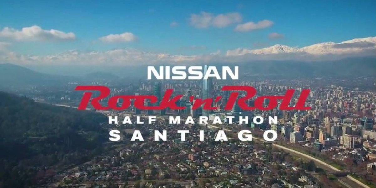De la mano de Nissan llega la Rock 'n' Roll Half Marathon a Chile