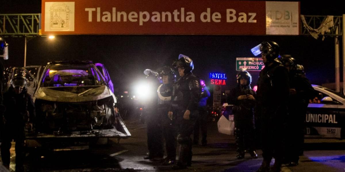 Policía Federal libera carretera México-Pachuca tras 18 horas de bloqueo