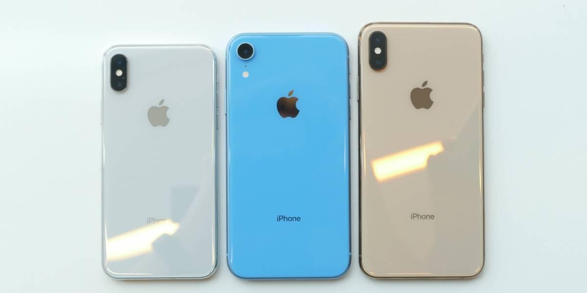 Apple teria desacelerado produção dos três novos iPhones