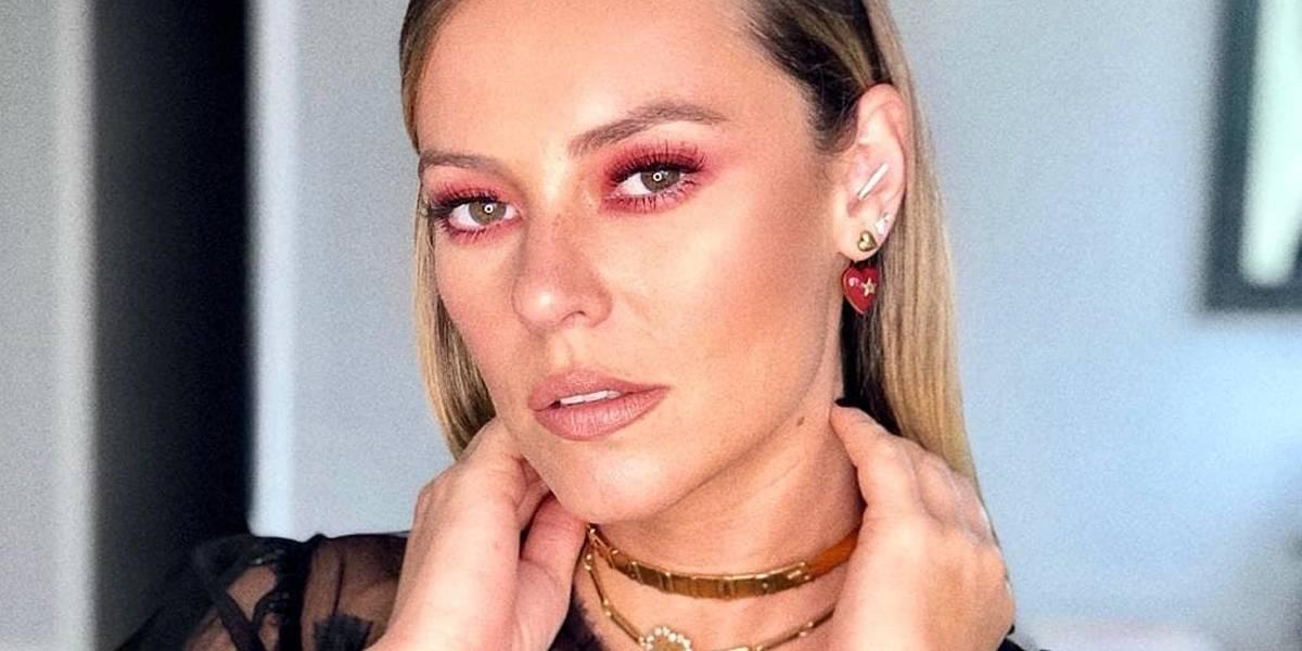 Maquiagem 'diferentona' de Paolla Oliveira dá o que falar na web