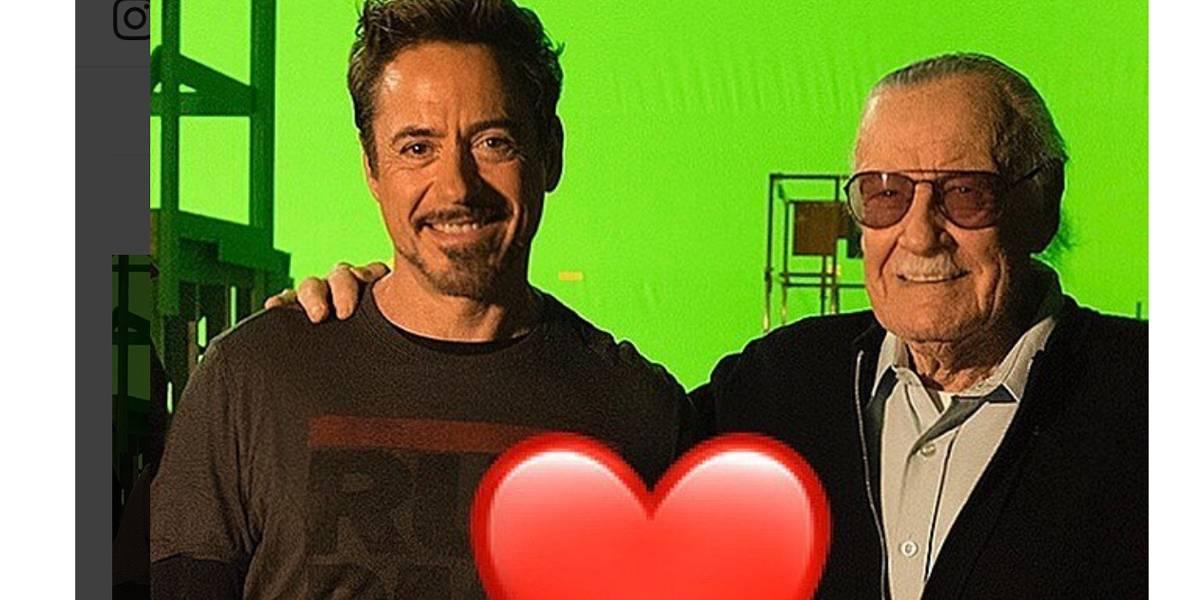Famosos repercutem na rede morte de Stan Lee