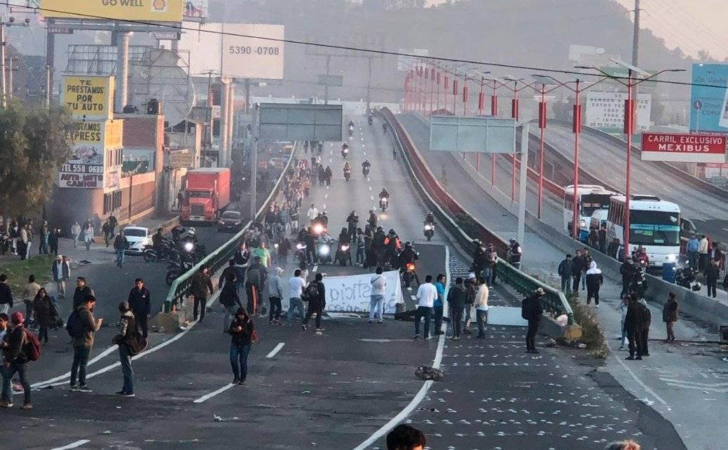 Los habitantes de San Juanico presuntamente agredieron a policías capitalinos Foto: Twitter @Grawperez