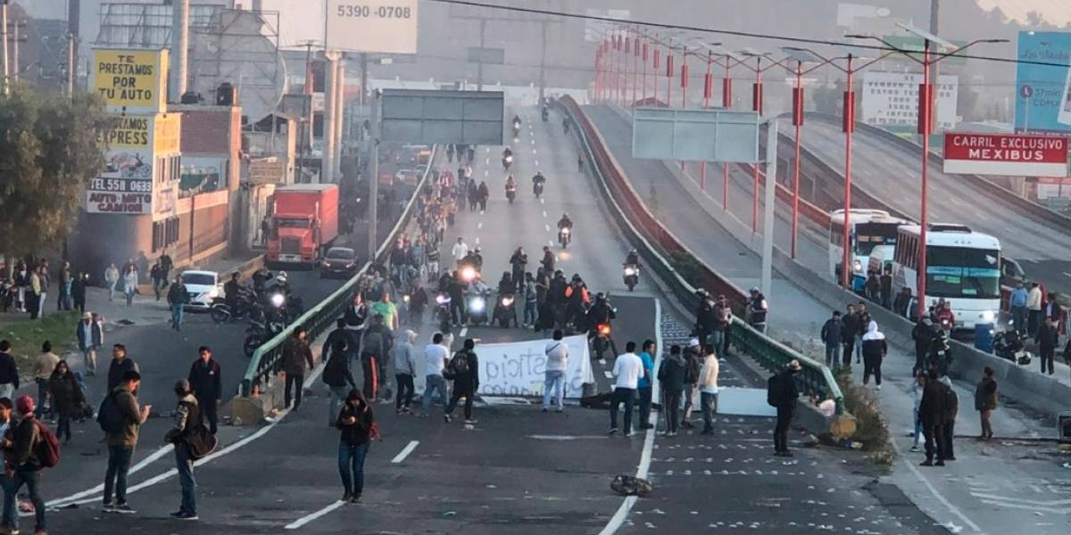 Tras operativo en San Juanico, cierran autopista México-Pachuca