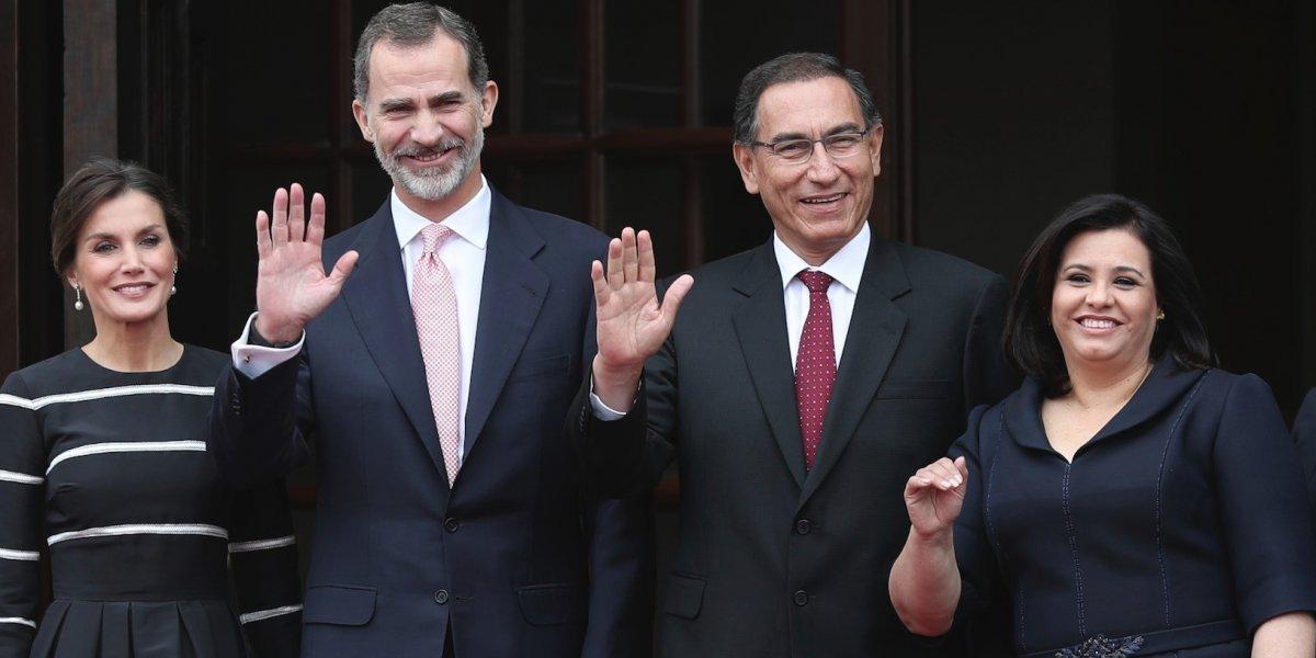 Rey de España muestra apoyo a lucha anticorrupción en Perú