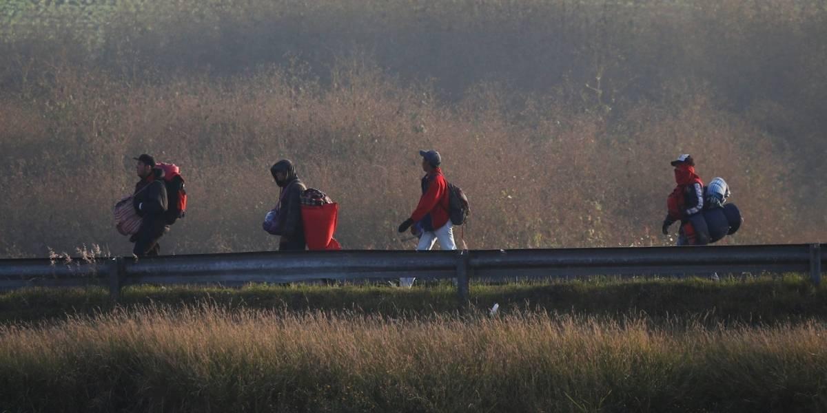 Caravana migrante llega a Guadalajara