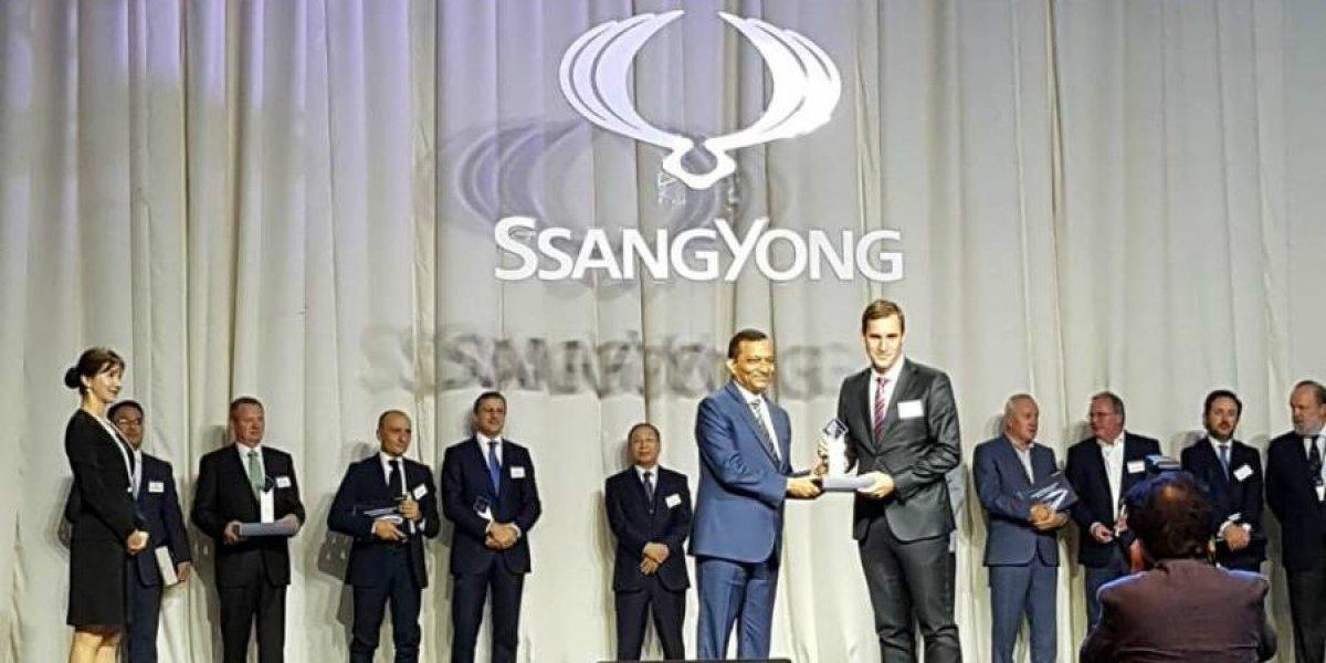 SsangYong Chile, elegido el mejor distribuidor del mundo para la marca