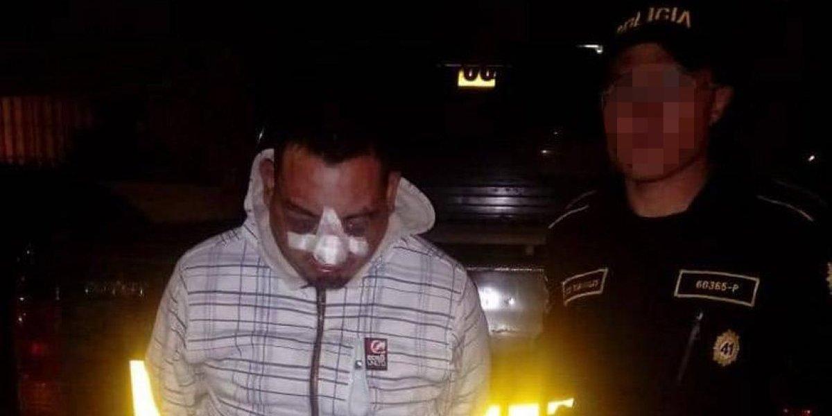 Presunto extorsionista es vapuleado en el cementerio de Quetzaltenango