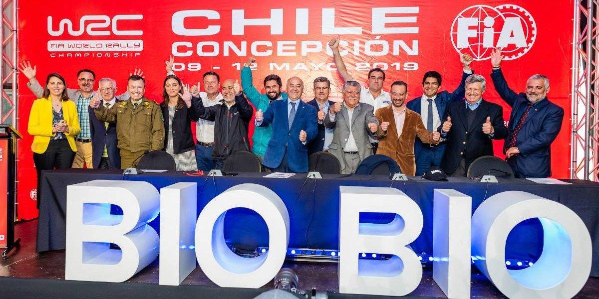 Organización del WRC de Chile anuncia las comunas para la fecha mundial