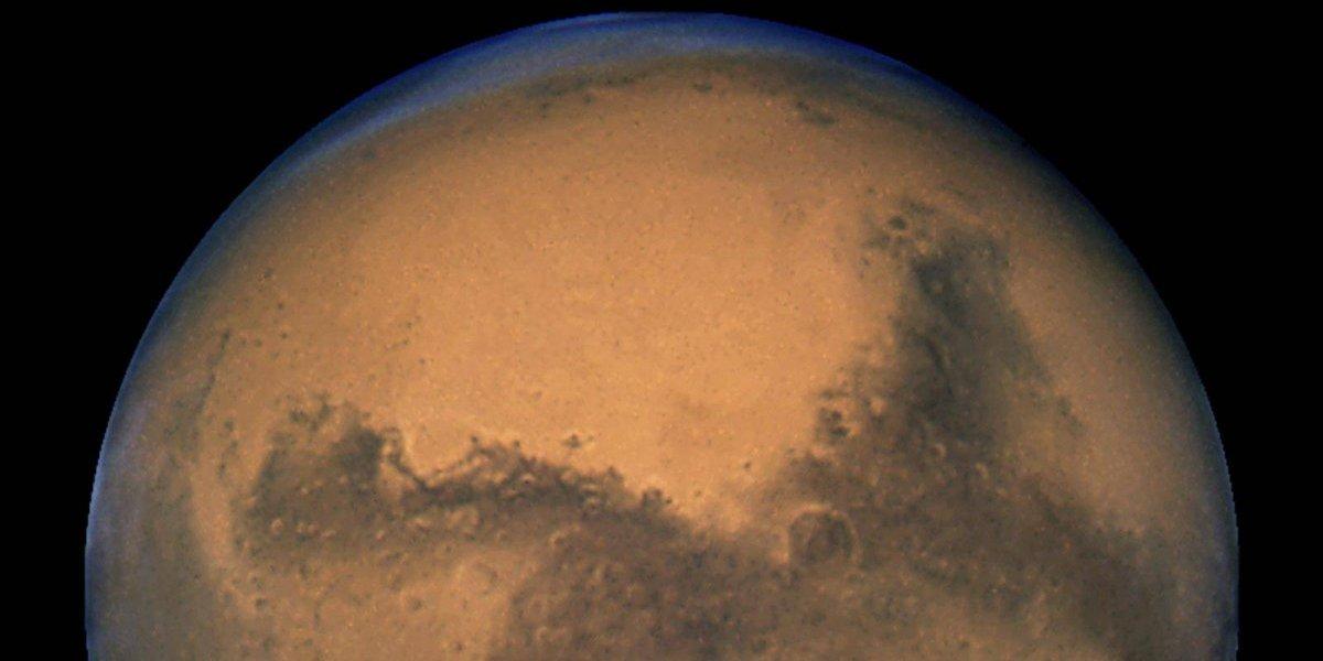 Este jueves la Luna y Marte en conjunción