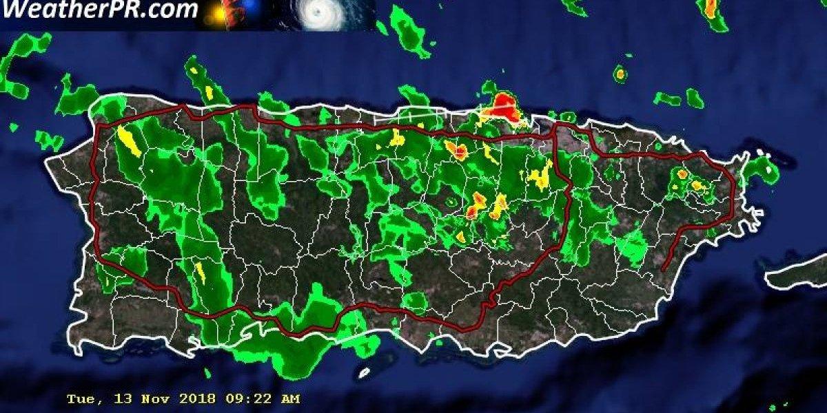 Tiempo inestable en Puerto Rico hasta el jueves