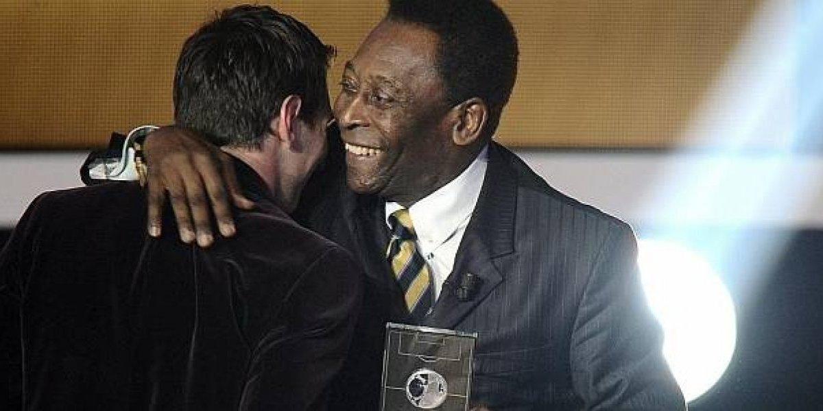 Messi va por la marca histórica de Pelé