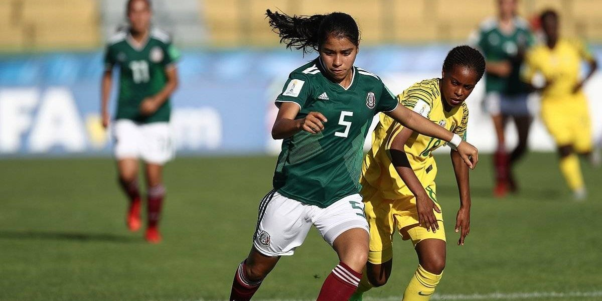 México inicia el Mundial femenil Sub-17 con un empate