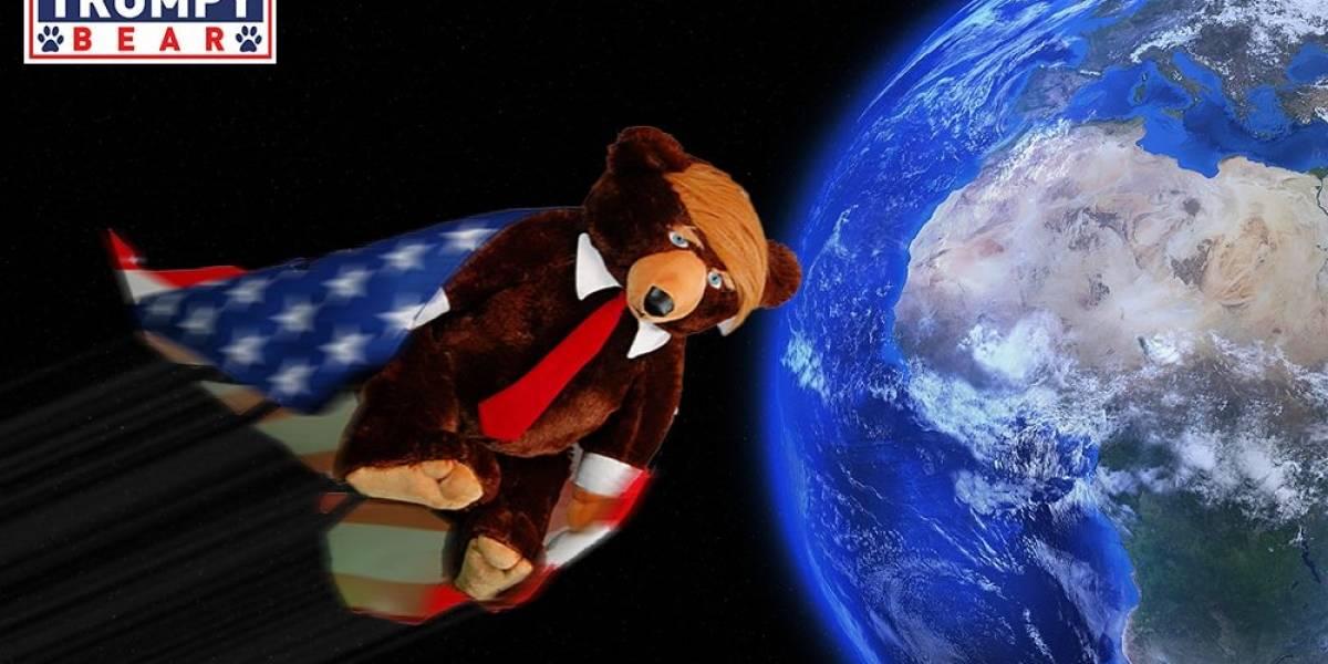 """""""Muestra tu patriotismo con el nuevo Trumpy bear"""": el osito de peluche inspirado en Donald Trump que la rompe en internet"""
