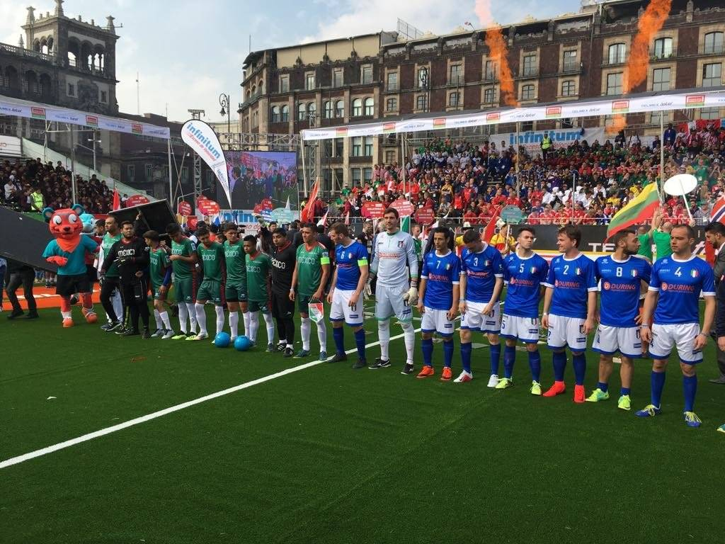 México varonil debutó con goleada sobre Italia. / Sergio Meléndez / Publisport