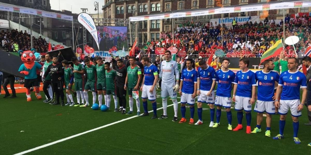 Arranca la Homeless World Cup 2018 en la CDMX