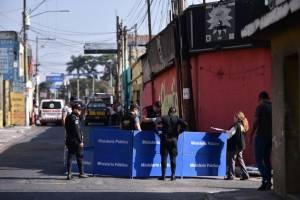 Accidente vial en Villa Nueva