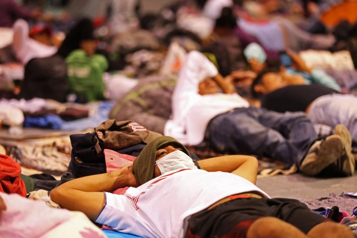 Migrantes centroamericanos. Foto: Cuartoscuro