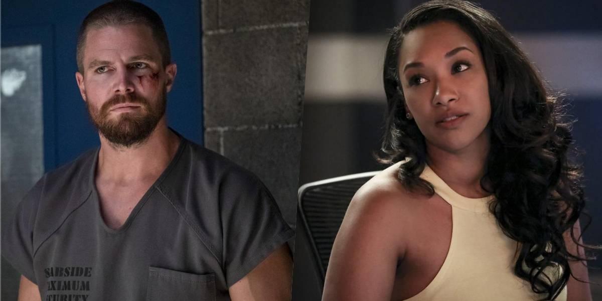 Oliver e Iris juntos? Novo teaser do crossover de Arrow e The Flash sugere que sim
