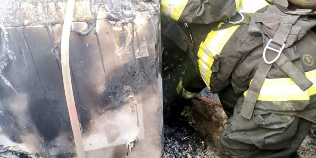 Quito: Un herido tras conato de incendio estructural en El Inca