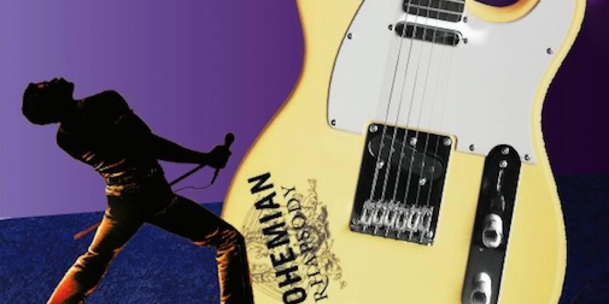 Llévate una de las guitarras oficiales de la película Bohemian Rhapsody