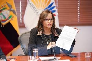 Elizabeth Cabezas sería carta de Alianza PAIS para terna para Vicepresidencia