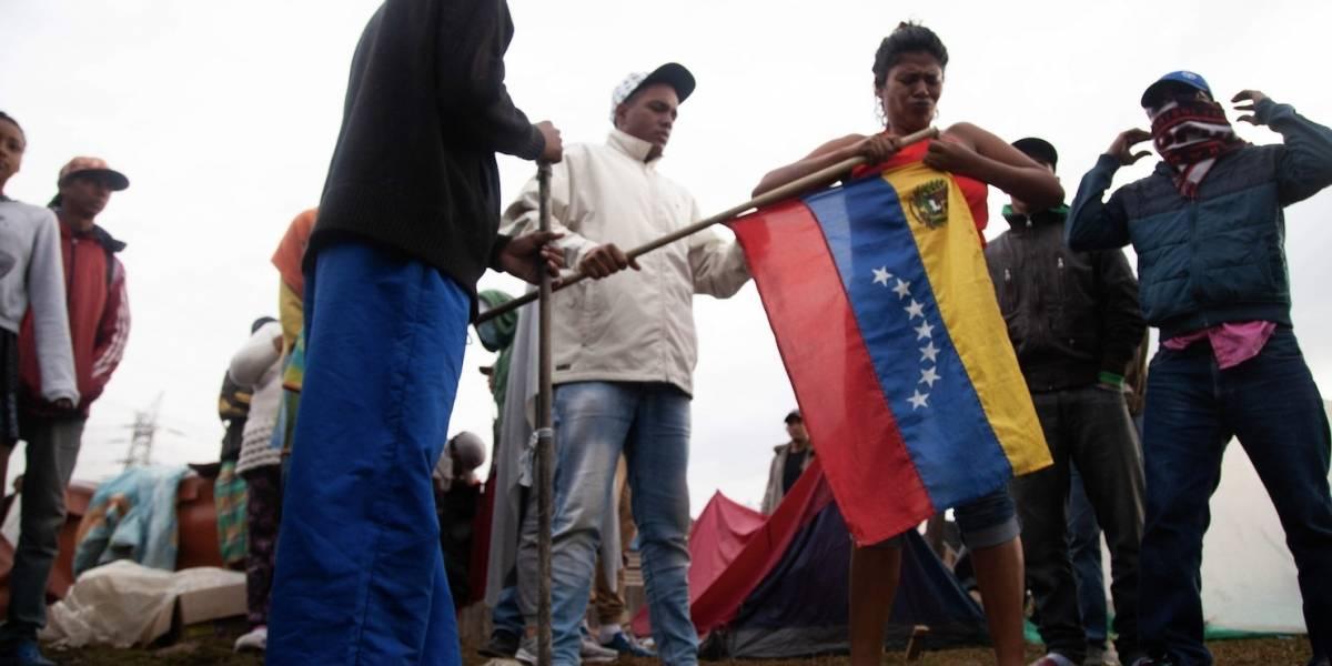Infiltrados habrían producido desmanes en campamentos de venezolanos