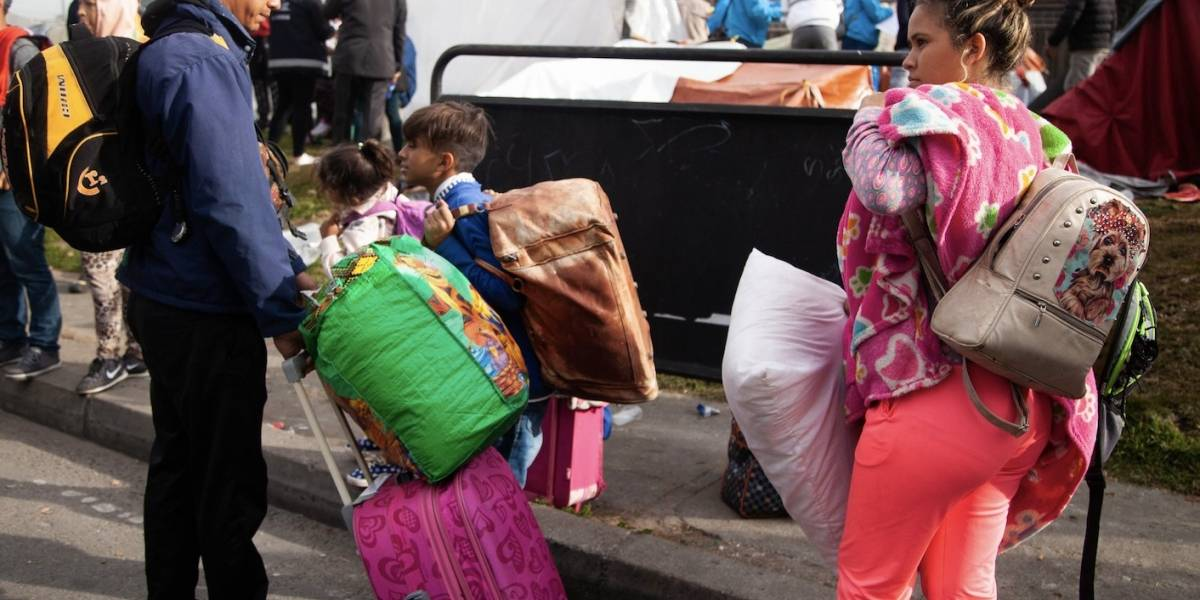 Así fue el traslado de los venezolanos a campamento humanitario